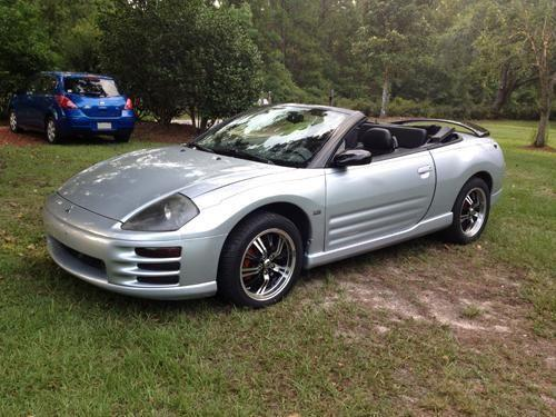 2002 mitsubishi eclipse spyder gt for sale in lamont florida classified. Black Bedroom Furniture Sets. Home Design Ideas