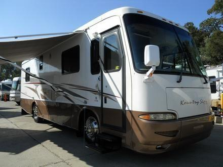 2002 newmar kountry star 33 diesel pusher w 2 slides one owner for sale in auburn california. Black Bedroom Furniture Sets. Home Design Ideas
