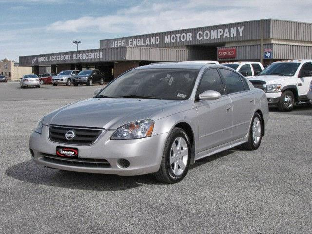2002 nissan altima 2 5 s for sale in cleburne texas classified. Black Bedroom Furniture Sets. Home Design Ideas