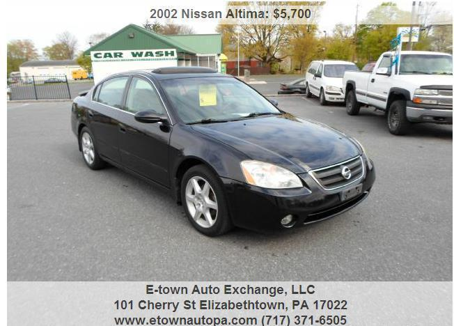 2002 nissan altima 3 5 se for sale in aberdeen. Black Bedroom Furniture Sets. Home Design Ideas