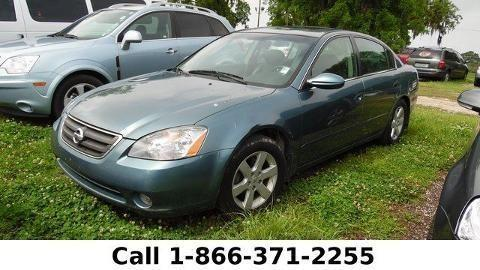 2002 NISSAN ALTIMA 4 DOOR SEDAN
