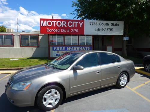 2002 Nissan Altima For Sale In Cushing Utah Classified