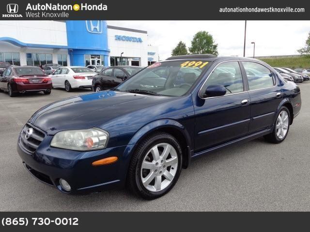 2002 nissan maxima for sale in knoxville tennessee classified. Black Bedroom Furniture Sets. Home Design Ideas