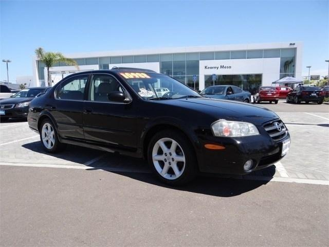 2002 Nissan Maxima Sedan 4dr Sdn SE Manual