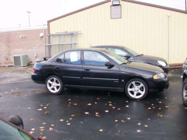 2002 nissan sentra se r spec v for sale in davenport iowa. Black Bedroom Furniture Sets. Home Design Ideas