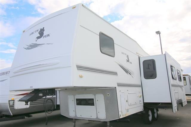 2002 Northwood Mfg Arctic Fox Fifth Wheel With Slide Out