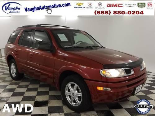 Vaughn Automotive Ottumwa >> 2002 Oldsmobile Bravada 4D Sport Utility Base for Sale in Bladensburg, Iowa Classified ...
