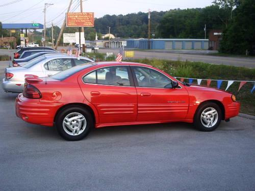 2002 Pontiac Grand AM SE 4 Cyl Super Clean And Like