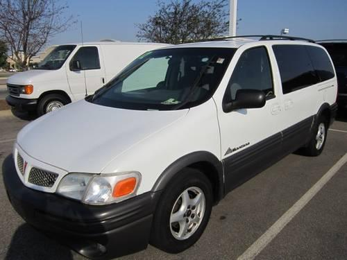2002 pontiac montana cloth minivan van for sale in. Black Bedroom Furniture Sets. Home Design Ideas
