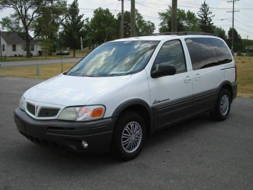 2002 pontiac montana minivan super nice van for. Black Bedroom Furniture Sets. Home Design Ideas
