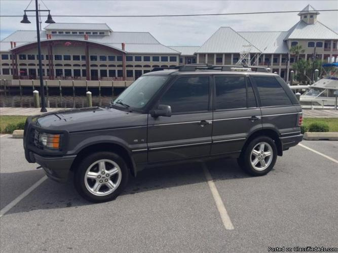 2002 range rover hse rhino edition for sale in panama city florida classified. Black Bedroom Furniture Sets. Home Design Ideas