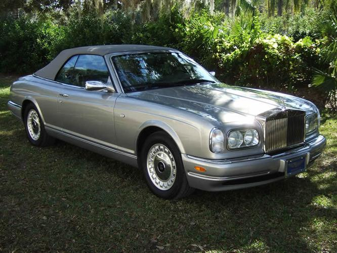 2002 rolls royce corniche for sale in sarasota florida classified. Black Bedroom Furniture Sets. Home Design Ideas