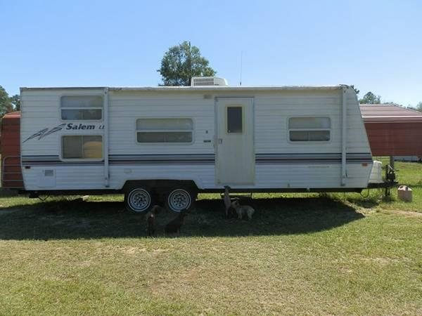2002 Salem 28 Travel Trailer For Sale In Fitzgerald