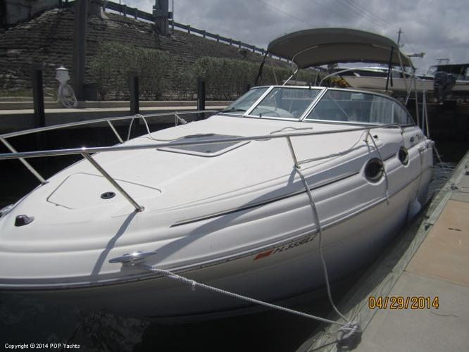 2002 sea ray 240 sundancer 61 foot 2002 yacht in west for Planet motors in west palm beach