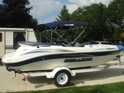 2002 seadoo challenger for sale in monroe michigan classified. Black Bedroom Furniture Sets. Home Design Ideas