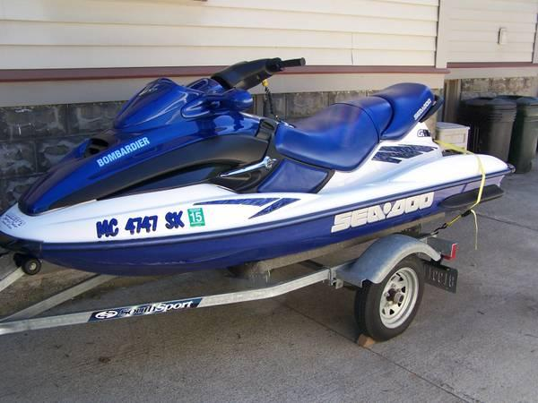 2002 SEADOO GTX RFI Low Hours / Adult Owned - $3650