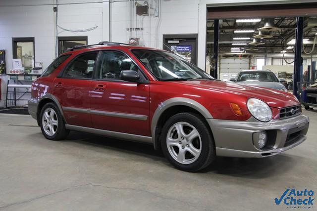 2002 Subaru Impreza Outback Sport Wagon For Sale In Rutland Vermont