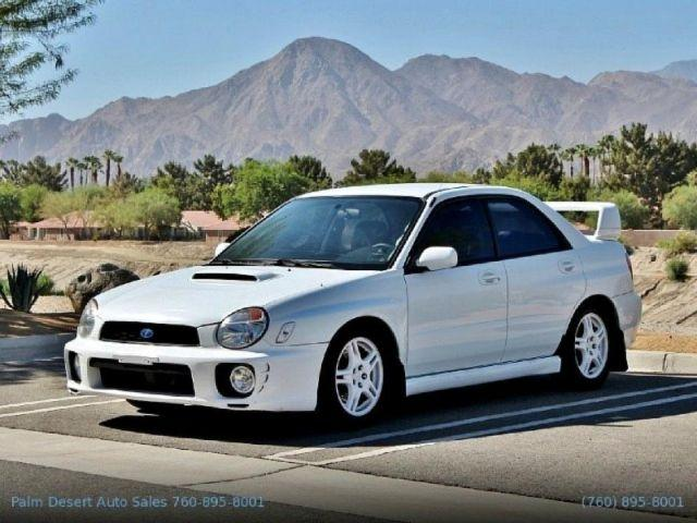 2002 Subaru Impreza Sedan WRX - White - 105,200mi for Sale ...