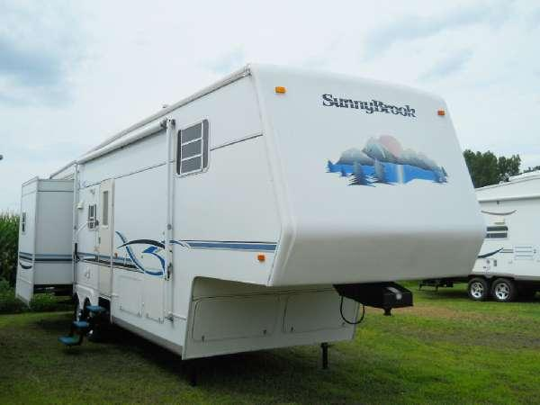 2002 Sunnybrook 34bwts For Sale In Eaton Rapids  Michigan
