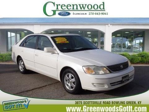 2002 toyota avalon 4 door sedan for sale in bowling green kentucky classified. Black Bedroom Furniture Sets. Home Design Ideas
