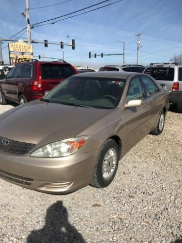 2002 toyota camry le le 4dr sedan for sale in springdale arkansas classified. Black Bedroom Furniture Sets. Home Design Ideas