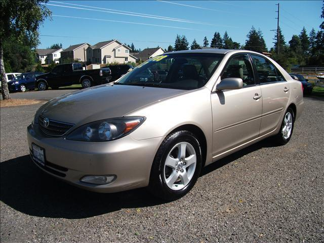 2002 toyota camry se for sale in port orchard washington classified. Black Bedroom Furniture Sets. Home Design Ideas