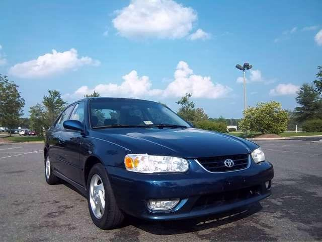 2002 toyota corolla s for sale in fredericksburg virginia classified. Black Bedroom Furniture Sets. Home Design Ideas