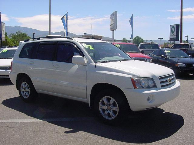 2002 toyota highlander limited for sale in albuquerque new mexico classified. Black Bedroom Furniture Sets. Home Design Ideas