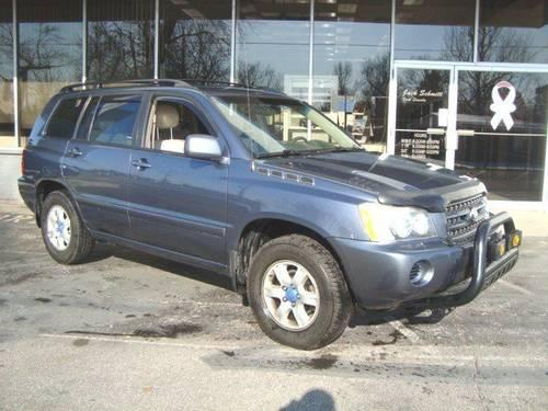 2002 toyota highlander sport utility rt for sale in collinsville illinois classified. Black Bedroom Furniture Sets. Home Design Ideas