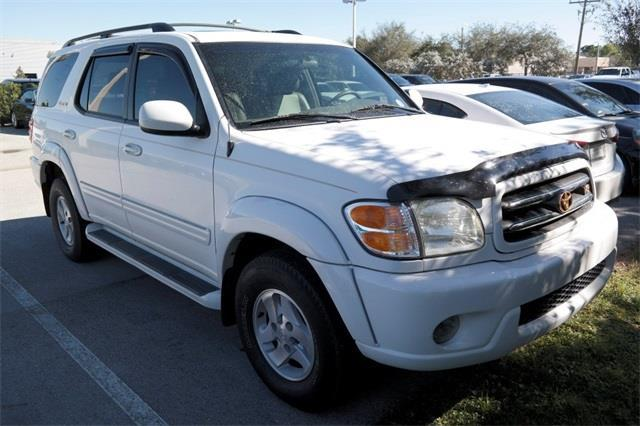 2002 Toyota Sequoia Limited Limited 2WD 4dr SUV