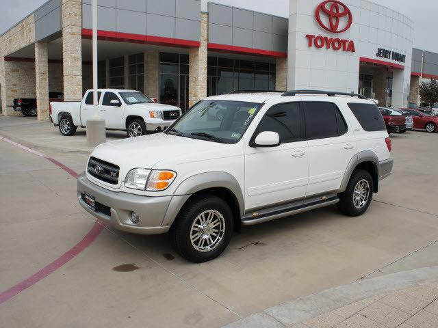 2002 toyota sequoia sr5 for sale in granbury texas classified. Black Bedroom Furniture Sets. Home Design Ideas