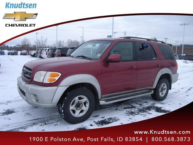 2002 toyota sequoia sr5 sr5 4wd 4dr suv for sale in hauser idaho classified. Black Bedroom Furniture Sets. Home Design Ideas