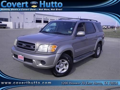 2002 toyota sequoia suv sr5 v8 8pass suv for sale in hutto texas classified. Black Bedroom Furniture Sets. Home Design Ideas