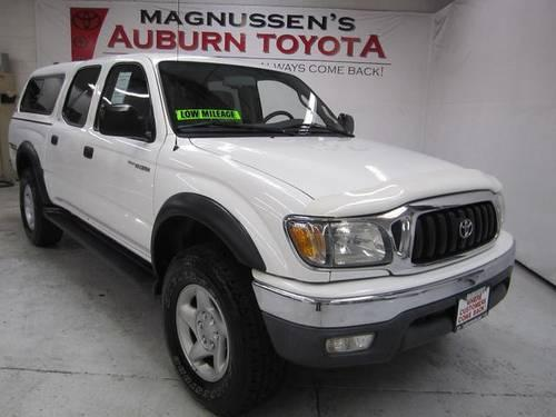 2002 toyota tacoma 4d double cab prerunner for sale in auburn california classified. Black Bedroom Furniture Sets. Home Design Ideas