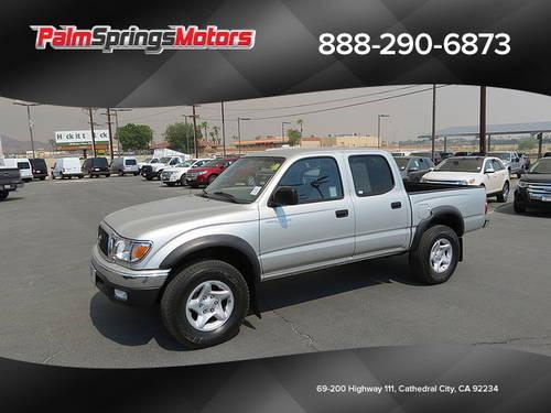 2002 toyota tacoma double cab prerunner 4d for sale in cathedral city california classified. Black Bedroom Furniture Sets. Home Design Ideas