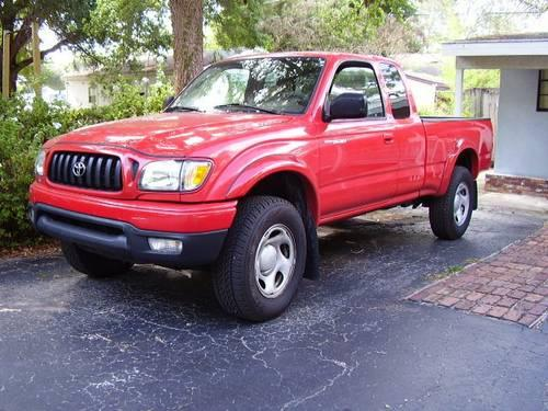 2002 toyota tacoma prerunner sr5 only 56 000 miles 4cyl auto ext cab for sale in valrico. Black Bedroom Furniture Sets. Home Design Ideas