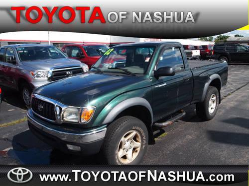 2002 toyota tacoma regular cab 4x4 for sale in nashua new hampshire classified. Black Bedroom Furniture Sets. Home Design Ideas
