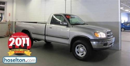 2002 toyota truck tundra reg cab 4wd sr5 at sr5 for sale in east rochester new york classified. Black Bedroom Furniture Sets. Home Design Ideas