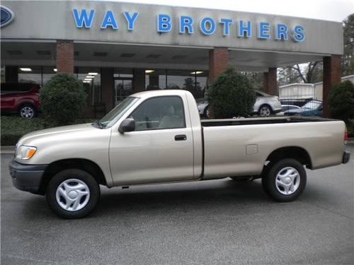 2002 toyota tundra truck base for sale in grovania georgia classified. Black Bedroom Furniture Sets. Home Design Ideas