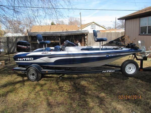 2002 tracker nitro bass boat for sale in caldwell idaho for Bass fishing boats for sale