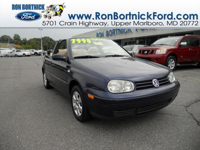 2002 Volkswagen Cabrio Glx For In Upper Marlboro Maryland