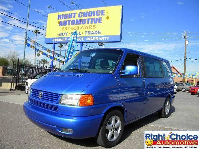 2002 volkswagen eurovan gls for sale in phoenix arizona. Black Bedroom Furniture Sets. Home Design Ideas