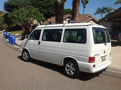 2002 volkswagen eurovan weekender 87 200 miles for sale. Black Bedroom Furniture Sets. Home Design Ideas