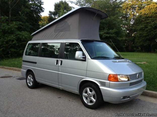 2002 volkswagen eurovan westfalia for sale in atlanta. Black Bedroom Furniture Sets. Home Design Ideas