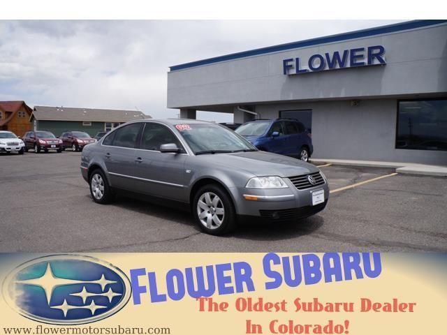 2002 volkswagen passat 4dr car glx for sale in colona for Flower motor company montrose co 81401