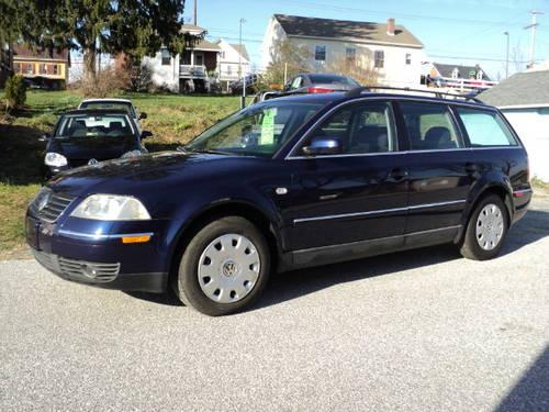 2002 volkswagen passat gls used cars for sale york pa for sale in york pennsylvania. Black Bedroom Furniture Sets. Home Design Ideas