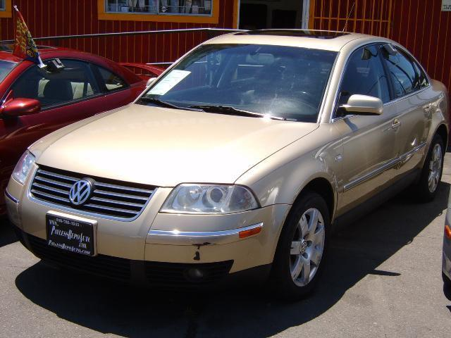 2002 Volkswagen Passat Glx V6 4motion For Sale In Van Nuys