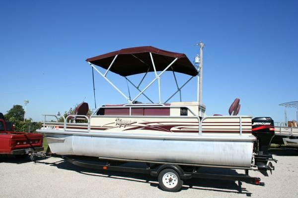 2002 Voyager 20ft 8in Pontoon For Sale In Nowata