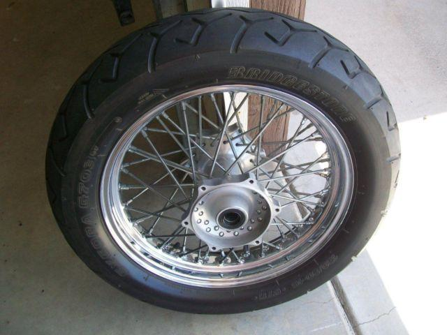 2002 YAMAHA ROAD STAR XV1600 RIMS AND TIRES
