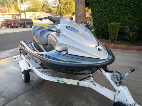 2002 Yamaha Waverunner XLT 1200 and trailer - $2950